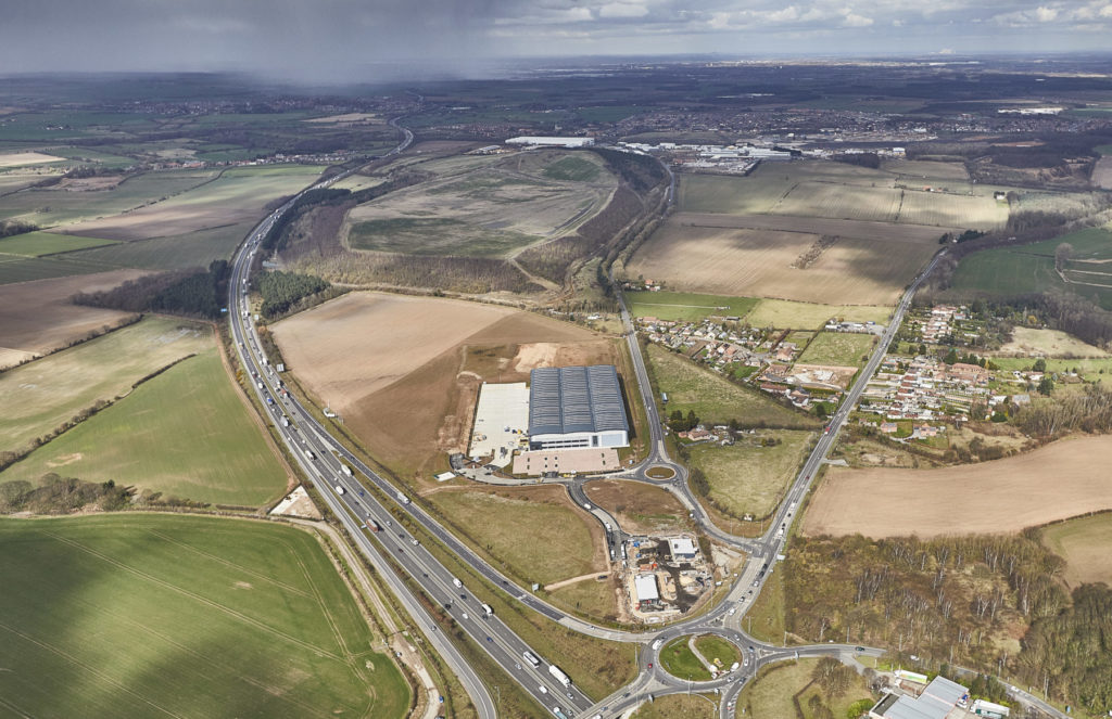 External Image depicts Mulberry Logistics Park Doncaster
